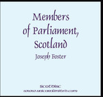 Members of Parliament, Scotland