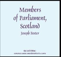 Members of Parliament, Scotland