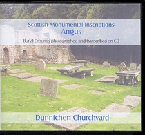 Scottish Monumental Inscriptions Angus: Dunnichen Churchyard