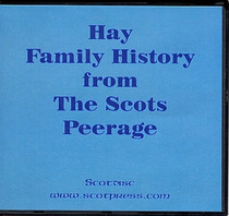 Hay Family History from The Scots Peerage