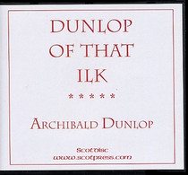 Dunlop of That Ilk