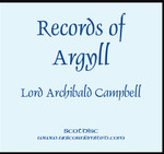 Records of Argyll