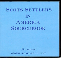 Scots Settlers in America Sourcebook