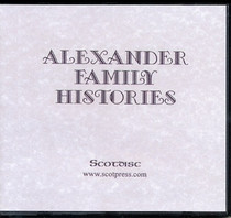 Alexander Family Histories