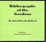 Bibliography of the Gordons