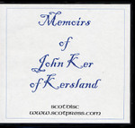 Memoirs of John Ker of Kersland