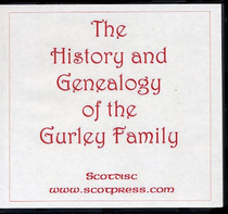 The History and Genealogy of the Gurley Family