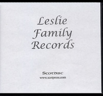 Leslie Family Records