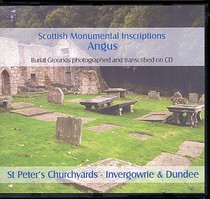 Scottish Monumental Inscriptions Angus: Invergowrie, St Peter's Churchyard