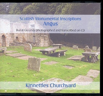Scottish Monumental Inscriptions Angus: Kinnettles Churchyard