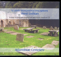 Scottish Monumental Inscriptions West Lothian: Adamsbrae Cemetery