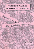 Torrens Valley Historical Journal No. 50 (February 2001)