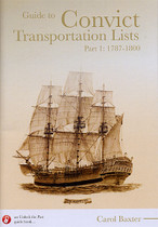 Guide to Convict Transportation Lists Part 1: 1787-1800