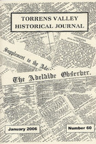 Torrens Valley Historical Journal No. 60 (January 2006)