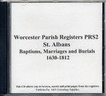 Worcestershire Parish Registers: St Albans 1630-1812