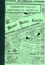 Torrens Valley Historical Journal No. 75 (February 2010)
