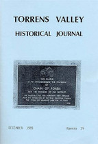 Torrens Valley Historical Journal No. 29