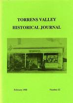 Torrens Valley Historical Journal No. 32