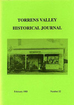 Torrens Valley Historical Journal No. 32