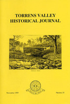 Torrens Valley Historical Journal No. 35 (November 1989)