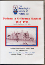 Patients in Melbourne Hospital 1856-1905