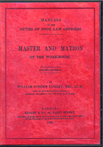 Manual of the Duties of the Poor Law Officers