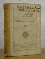Sydney University Calendar 1887 (original)