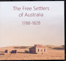 The Free Settlers of Australia 1788-1828 (CD)