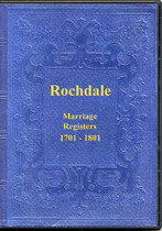 Lancashire Parish Registers: Rochdale 1701-1801 (Marriages)