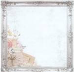 Kaisercraft 12x12 P.S. I Love You Ornate Frames