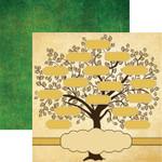 Reminisce 12x12 Family Tree Family Tree