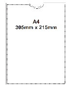 A4 Archival Pockets (pack of 10)