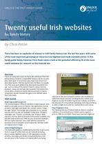 Handy Guide: Twenty Useful Irish Websites for Family History