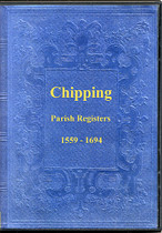 Lancashire Parish Registers: Chipping 1559-1694