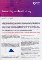 Handy Guide: Researching Your Health History