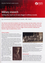 Handy Guide: Military Research: Getting the Most Out of Your Digger's Military Records