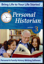 Personal Historian 3: Personal and Family History Writing Software