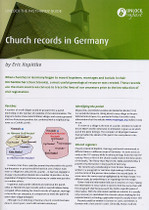 Handy Guide: Church Records in Germany
