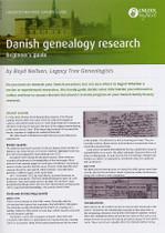 Handy Guide: Danish Genealogy Research Beginner's Guide