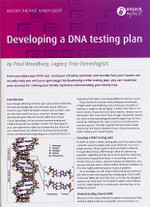 Handy Guide: Developing a DNA Testing Plan