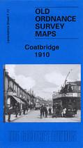 Town Map Glasgow and Lanarkshire: Coatbridge 1910