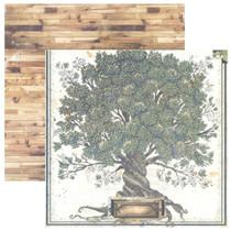 BoBunny 12x12 Once Upon a Lifetime Family Tree