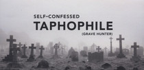 Self-Confessed Taphophile Sticker