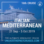 Unlock the Past cruise 2019 Mediterranean conference $200