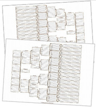 A3 6 Generation Bowtie Chart Set (pack 2)