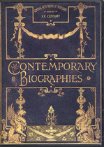 Contemporary Biographies West Riding Yorkshire 1902