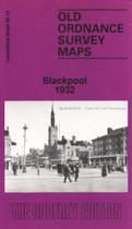 Town Map Lancashire: Blackpool 1932