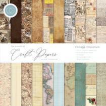 Craft Consortium 12x12 Vintage Emporium Paper Pad