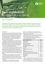 Handy Guide: Civil Registration Births, Marriages and Deaths in Germany
