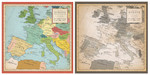 Carta Bella 12x12 Cartography No. 1 Europe